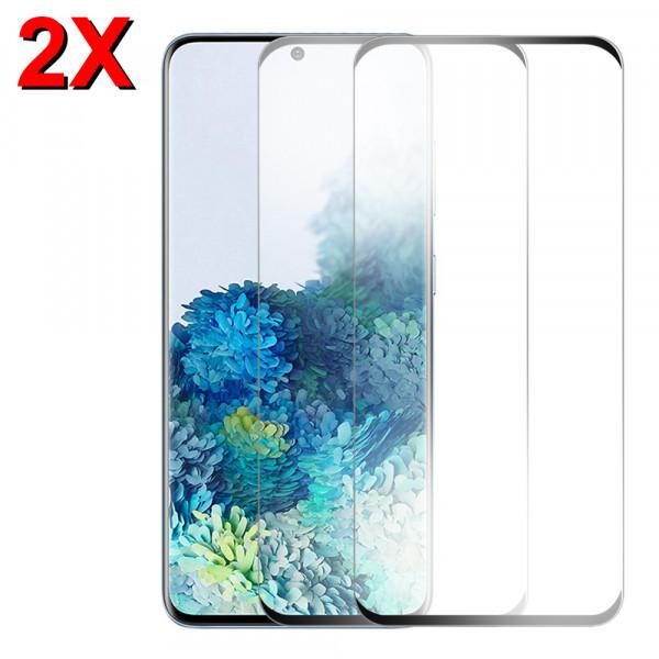 2x Displayschutzfolie Screen Protector Panzerfolie für Samsung Galaxy S20
