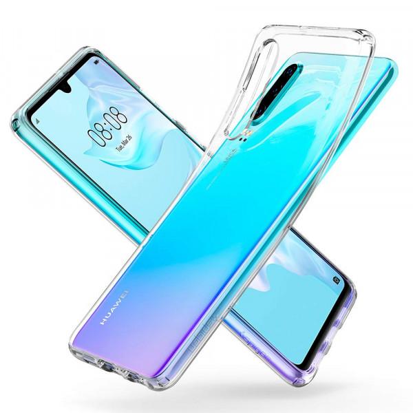 TPU Silikonhülle + Displayschutzfolie gehärtetem Glas für Huawei P30