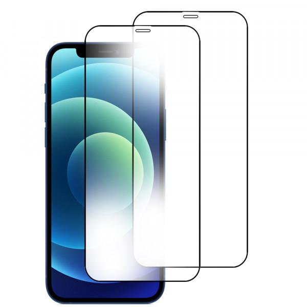 MMOBIEL 2 stuks Glazen Screenprotector voor iPhone 12 Mini - 5.4 inch 2020 - Tempered Gehard Glas - Inclusief Cleaning Set