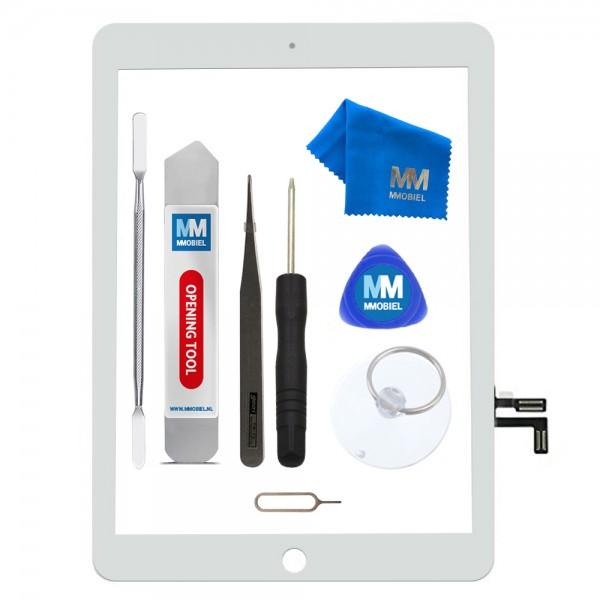 MMOBIEL Digitizer Scherm Display Glas Touchscreen voor iPad 5 2017 (WIT) - inclusief Tools