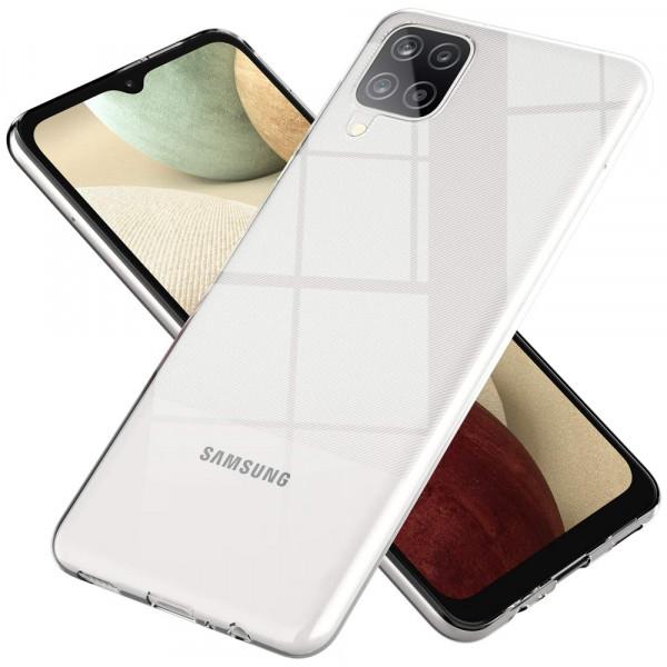MMOBIEL Screenprotector en Siliconen TPU Beschermhoes voor Samsung Galaxy A12 SM-A125 6.5 inch 2020
