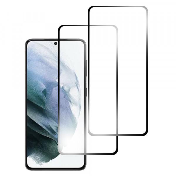 MMOBIEL 2 stuks Glazen Screenprotector voor Samsung Galaxy S21 SM-G990 6.2 inch 2020 - Tempered Gehard Glas - Inclusief Cleaning Set