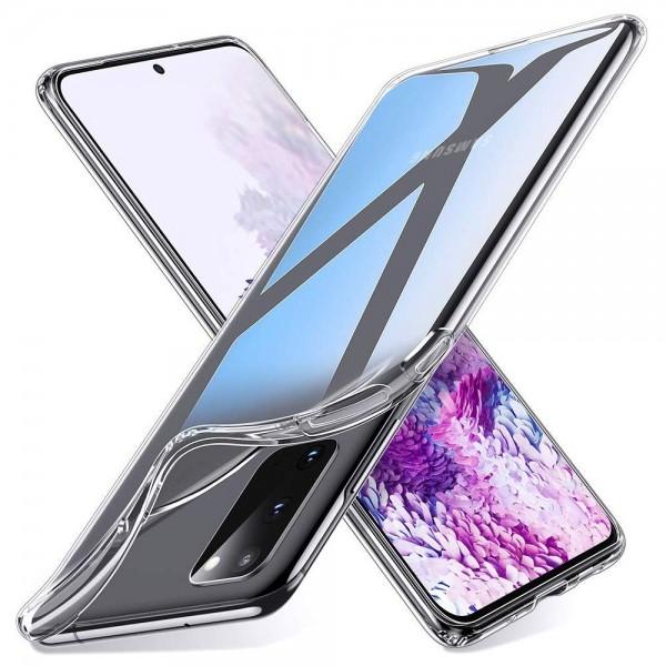 MMOBIEL Soft TPU Siliconen Hoesje - Samsung Galaxy S20 - Case - Back Cover - Skin - Ultra Dunne en Transparante Bescherming