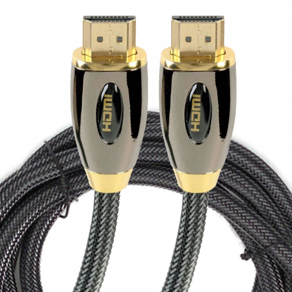 MMOBIEL HDMI 4K Video - Audio Kabel voor High Definiton Beeldoverdracht (1.8 meter) - Vergulde Connectoren
