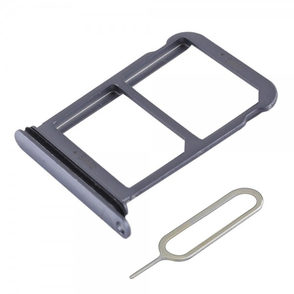 MMOBIEL Sim Tray Kaart Houder Nano Slot voor Huawei P20 (ZWART)