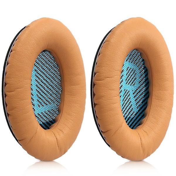 MMOBIEL Ohrpolster Ear Pads für Bose QuietComfort Headset Memory Foam (KHAKI)