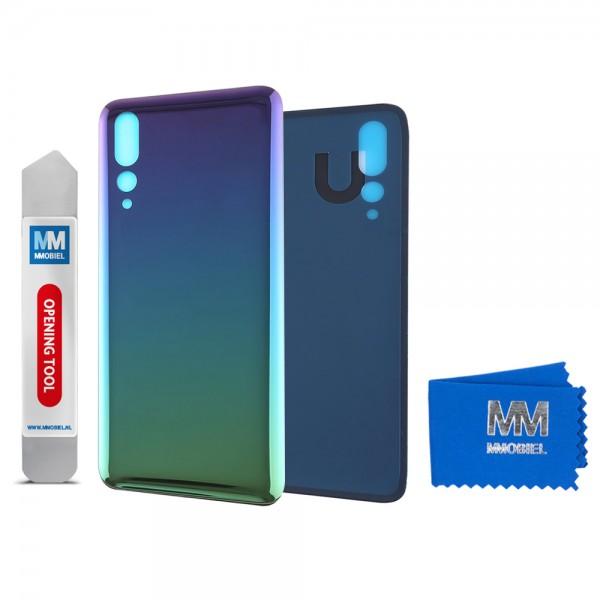 Akkudeckel mit Linse für Huawei P20 Pro 2018 (TWILIGHT) Backcover