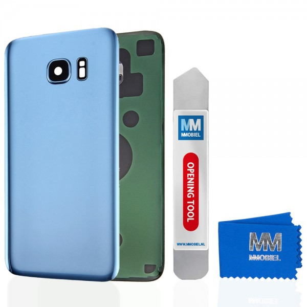 MMOBIEL Back Cover incl. Lens voor Samsung Galaxy S7 Edge G935 (BLAUW)