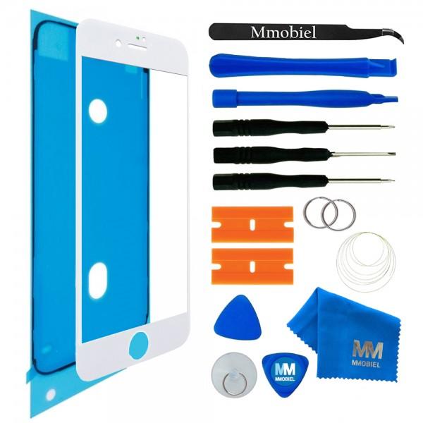 MMOBIEL Front Glas Display Scherm voor iPhone 8 Plus (WIT) - inclusief Tools