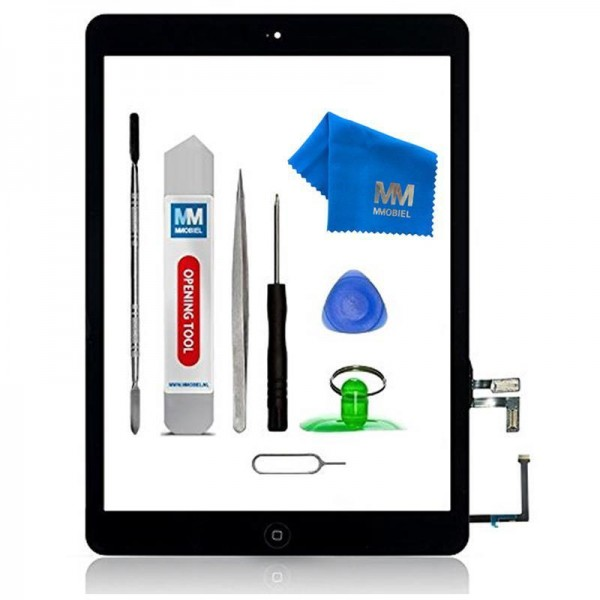Digitizer for iPad Air (Black) Touchscreen Front Display incl. Toolkit