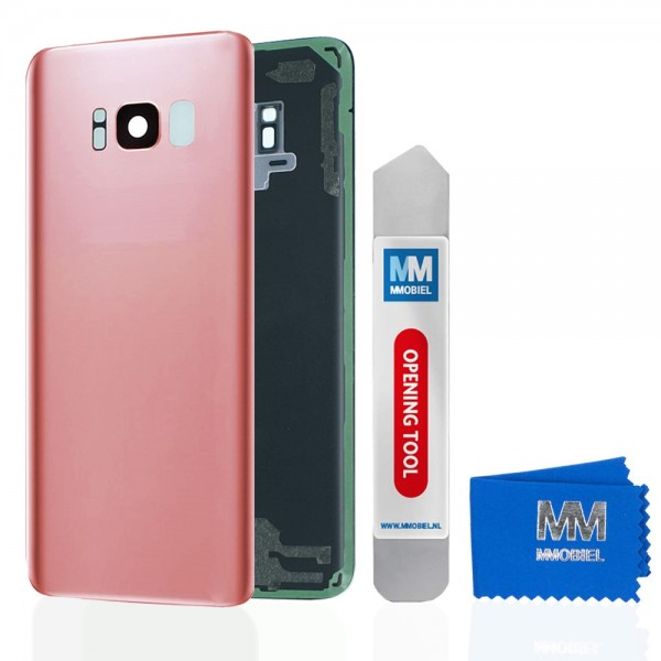 MMOBIEL Back Cover incl. Lens voor Samsung Galaxy S8 G950 (ROZE)