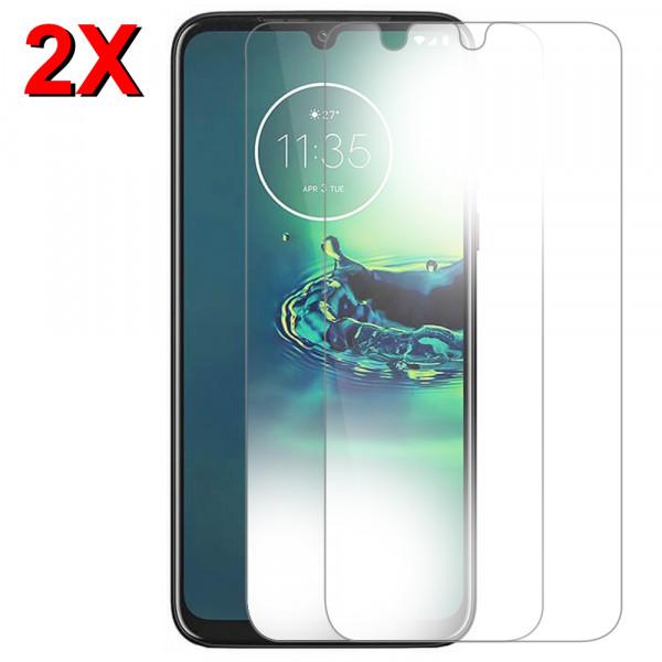 MMOBIEL 2 stuks Glazen Screenprotector voor Motorola G8 Plus - 6.3 inch 2019 - Tempered Gehard Glas - Inclusief Cleaning Set