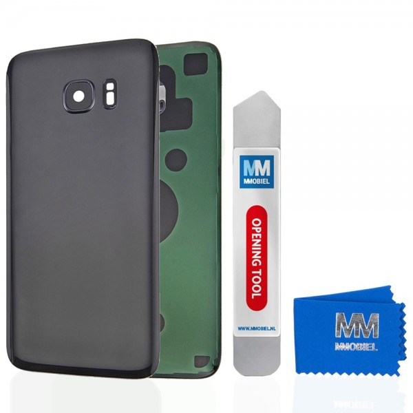 MMOBIEL Back Cover incl. Lens voor Samsung Galaxy S7 Edge G935 (ZWART)