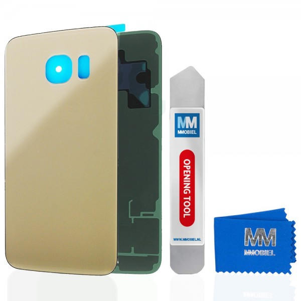 Akkudeckel für Samsung Galaxy S6 G920 (GOLD) Backcover Rückseite