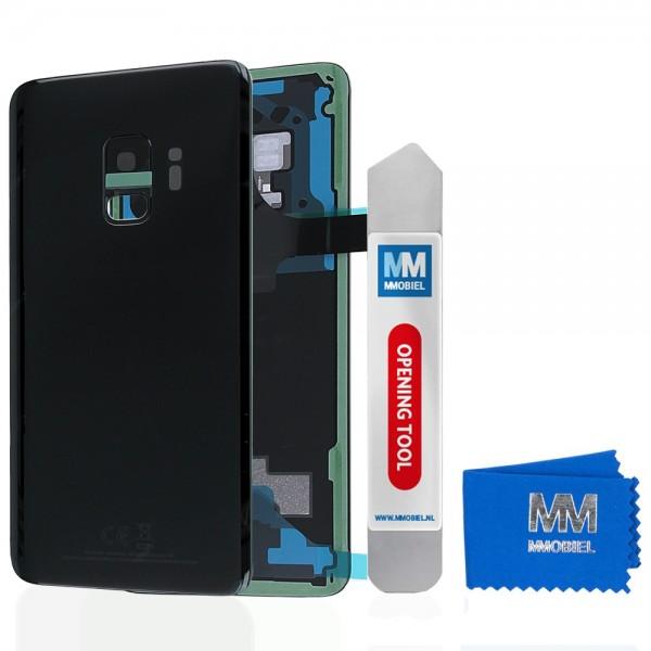 MMOBIEL Back Cover incl. Lens voor Samsung Galaxy S9 G960 (ZWART)