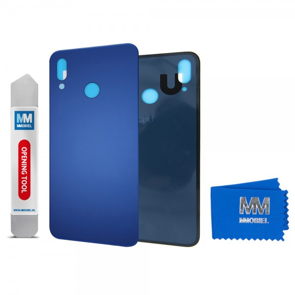 MMOBIEL Back Cover incl. Lens voor Huawei P20 Lite 2018 (BLAUW)