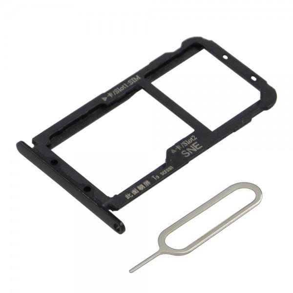 MMOBIEL Sim Tray Kaart Houder Nano Slot voor Huawei P20 Lite (ZWART)