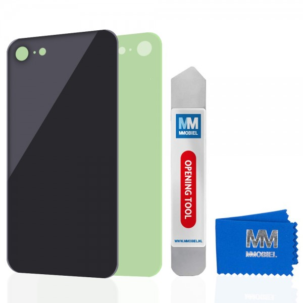 MMOBIEL Back Cover voor iPhone SE 2020 / 8 (ZWART)