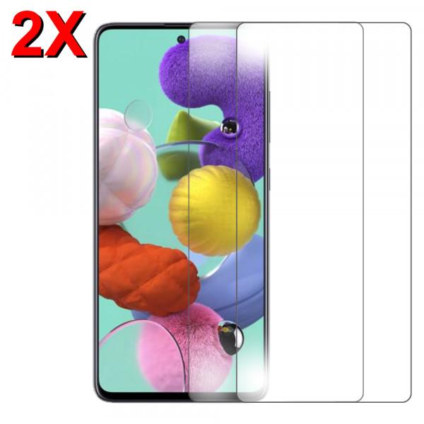 2x Displayschutzfolie Screen Protector Panzerfolie für Samsung Galaxy A51
