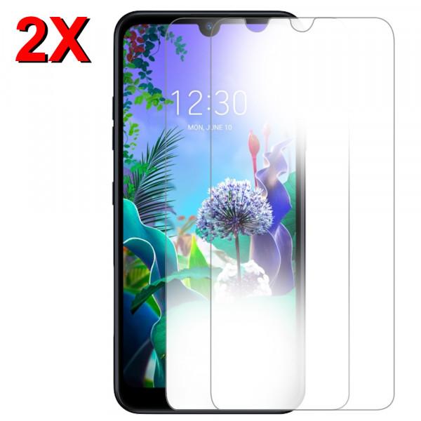 MMOBIEL 2 stuks Glazen Screenprotector voor LG Q60 - 6.26 inch 2019 - Tempered Gehard Glas - Inclusief Cleaning Set