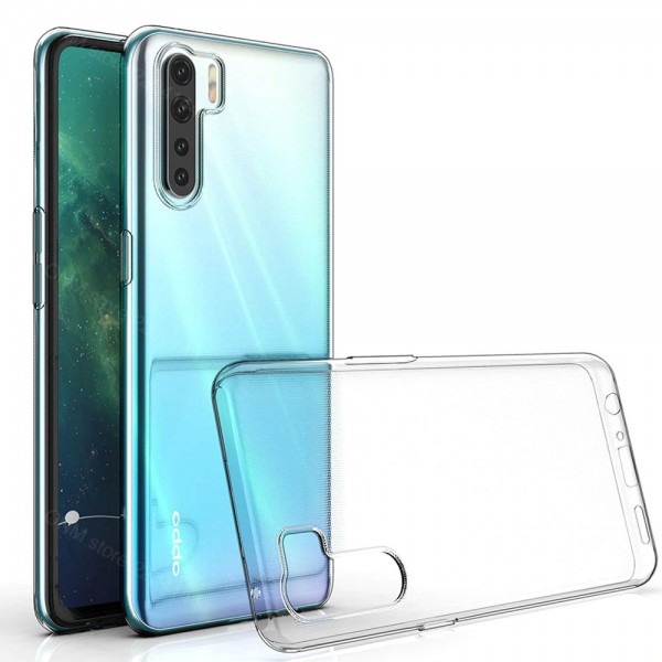MMOBIEL Siliconen TPU Beschermhoes Voor Oppo A91 6.4 inch 2019 Transparant - Ultradun Back Cover Case