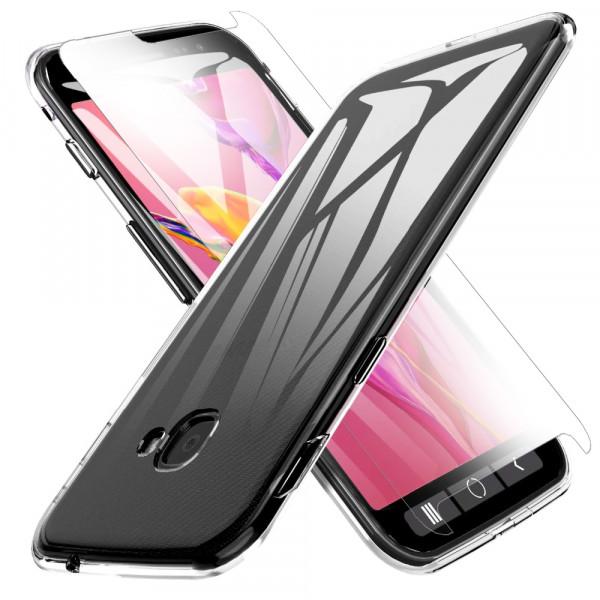 MMOBIEL Screenprotector en Siliconen TPU Beschermhoes voor Samsung Galaxy X Cover 4S - 5.0 inch 2019