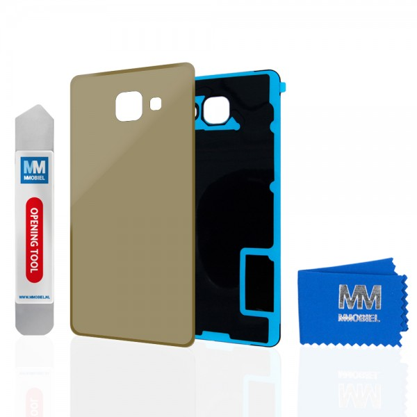 MMOBIEL Back Cover voor Samsung Galaxy A5 A510 2016 (GOUD)