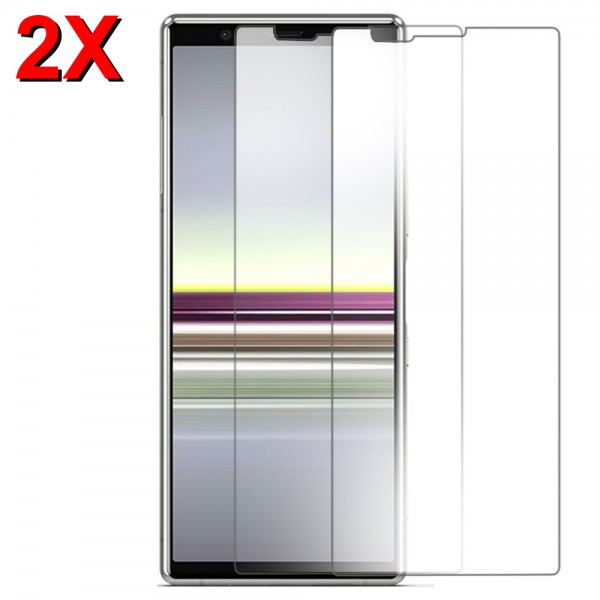 MMOBIEL 2 stuks Glazen Screenprotector voor Sony Xperia 5 - 6.1 inch 2019 - Tempered Gehard Glas - Inclusief Cleaning Set